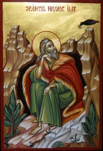 20 iulie - Sfântul și slăvitul Proroc Ilie Tesviteanul