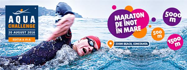 Maraton de înot la Aqua Challenge 2016