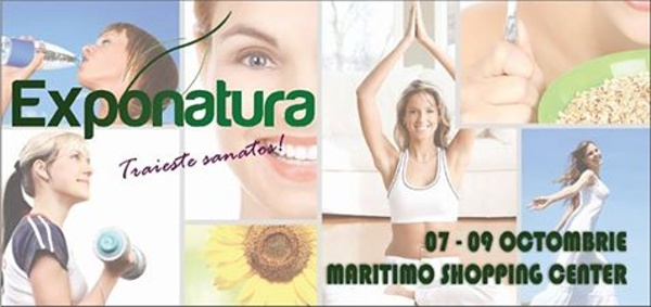 """Târg """"Exponatura"""" de Produse și Servicii Eco, Bio, Naturale,Wellness și Spa, la Constanta"""