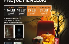 De Halloween se colindă cinematografele Cinema City !