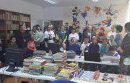 "Inaugurare Biblioteca școlară ""Iulia Andreea"" din Moșneni"