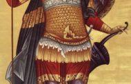 26 octombrie: Sfântul Mare Mucenic Dimitrie
