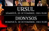 """""""Ursul"""" si """"Dionysos"""" pe scena Teatrului de Stat Constanta"""