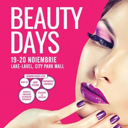 Beauty days la City Park Mall, cu demonstrații live, sfaturi și consiliere