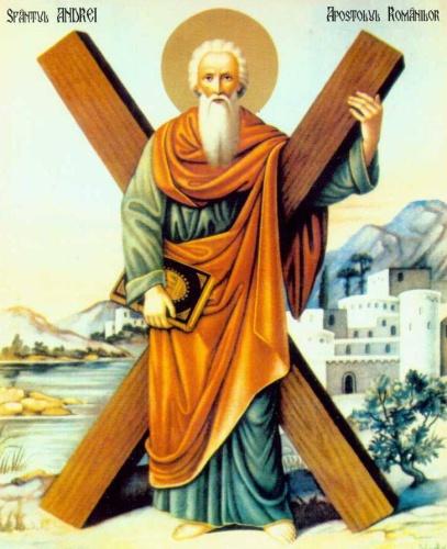 Sf.  Andrei – Ocrotitorul României