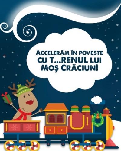 """""""T…RENul lui Moș Crăciun"""": o călătorie de poveste!"""