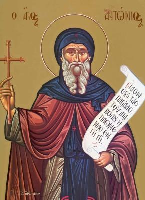 17 ianuarie – Sfântul Cuvios Antonie cel Mare
