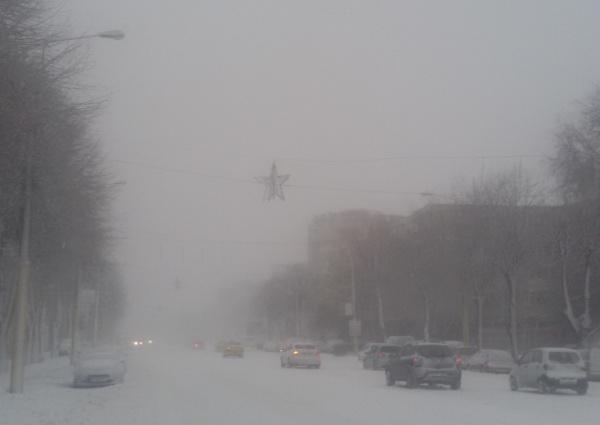 Constanța: Avertizare de cod portocaliu de ninsoare, vânt puternic și temperaturi scăzute
