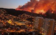 """Chile: Menţinere coduri """"roşu"""" şi """"galben"""" pentru incendii de vegetație"""