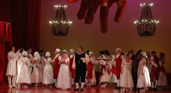"""""""Don Giovanni"""" pe scena Teatrului Național de Operă și Balet """"Oleg Danovski"""""""
