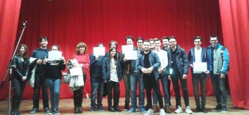 """Castigătorii concursului european ,,Tineri în pădurile Europei"""""""