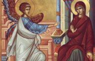 25 martie: Biserica Ortodoxă prăznuiește Buna-Vestire