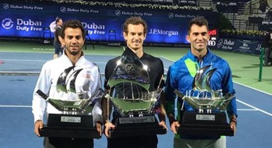 """Horia Tecău şi Jean-Julien Rojer au câştigat turneul ATP """"Dubai Duty Free Tennis Championships"""""""