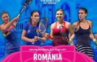 Bilete de vânzare pentru meciul de Fed Cup by BNP Paribas, România - Marea Britanie