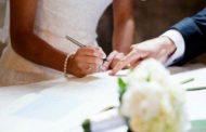 Programări căsătorii pentru 2017