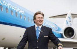 Regele Olandei, Willem-Alexander, este copilot KLM