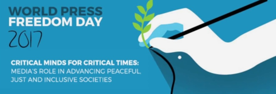 3 mai: Ziua Mondială a Libertăţii Presei