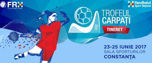 Trofeul Carpați la handbal Tineret vine la Constanța!