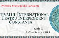 Festivalul Internaţional de Teatru Independent  Constanţa, 2017