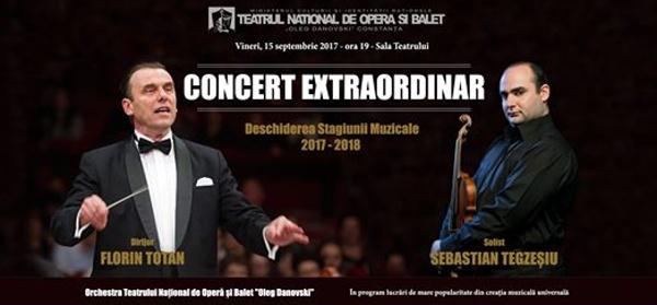 "Deschiderea stagiunii 2017 – 2018 la Teatrul National de Opera si Balet ""Oleg Danovski"""
