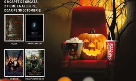 O groază de filme la cinema, de Halloween