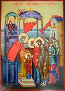21 noiembrie: Intrarea în biserică a Maicii Domnului