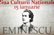 15 ianuarie – Ziua Culturii Naţionale