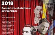 Concert vocal-simfonic extraordinar de Ziua Culturii Naționale 2018