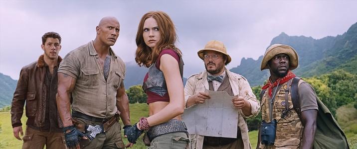 """""""Jumanji: Aventura în junglă"""" este lider absolut de box-office în vacanța de sărbători"""