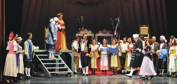 """""""Nunta lui Figaro"""" pe scena Teatrului National de Opera si Balet """"Oleg Danovski"""""""