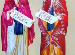 28 februarie Sfinți dobrogeni Ioan Casian și Gherman