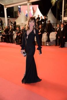 Românca Mirela Novak a strălucit pe covorul roșu de la Cannes!