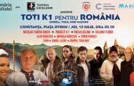 Toți K1 pentru România. Spectacol de evocare istorică la Constanța