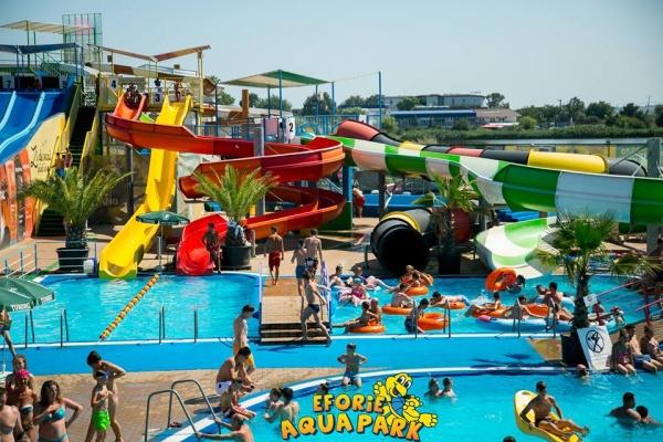 Eforie Aqua Park aniversează cinci ani de distracție