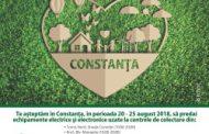 Campanie de colectare echipamente electrice și electronice uzate la Constanța