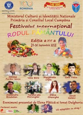 """Festivalul Internațional """"Rodul Pământului"""" la Cumpăna"""