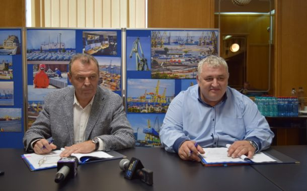 APMC. Contract de finanțare dragaj Portul Constanța