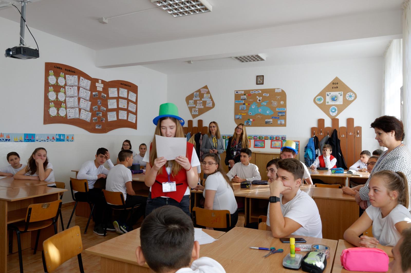 Elevii Scolii Gimnaziale Lucian Grigorescu invata sa protejeze mediul marin