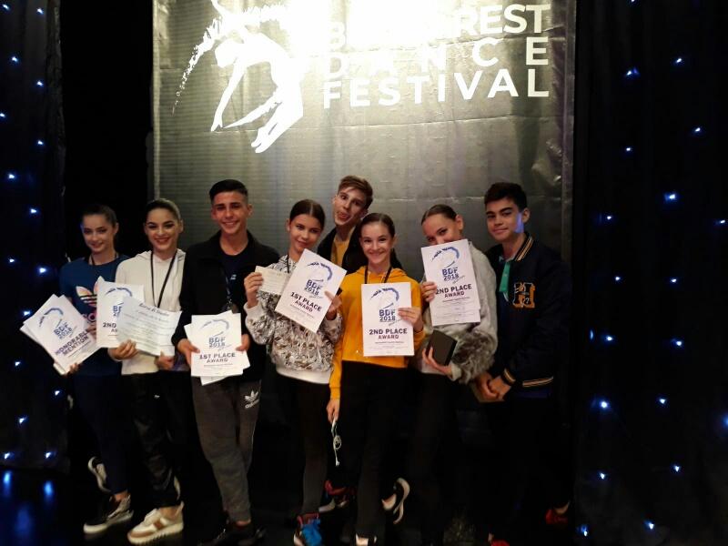 """Rezultate deosebite ale elevilor secției de coregrafie a Colegiului Național de Arte """"Regina Maria"""""""