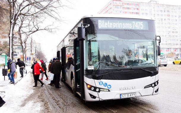 Noile autobuze au intrat în circulație
