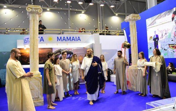"""Facultatea de Arte din cadrul Universităţii """"Ovidius"""" din Constanţa promovează destinația Constanța – Mamaia la TTR"""