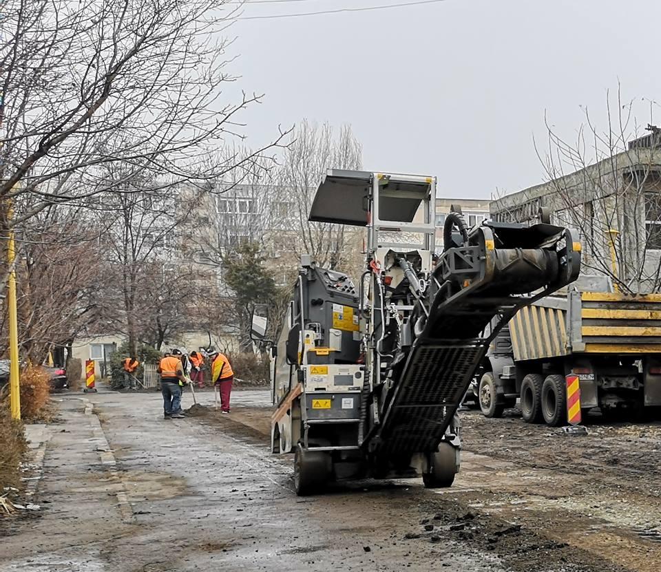 Strada Ștefăniță Vodă a intrat în reabilitare