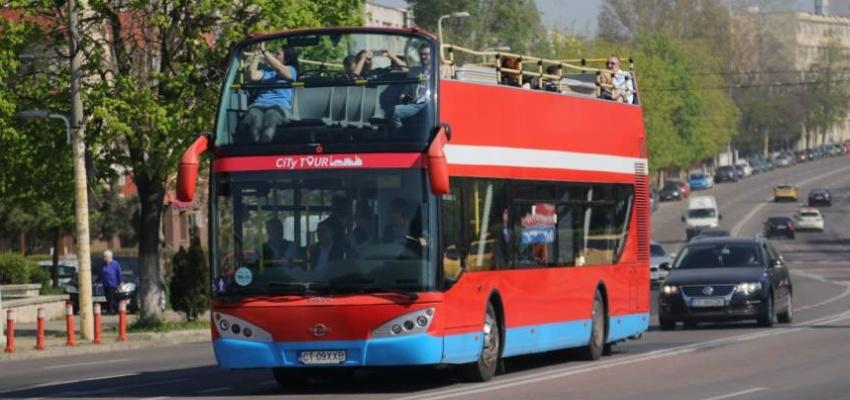 Autobuze CiTy TOUR în minivacanța de Paște și de 1 Mai