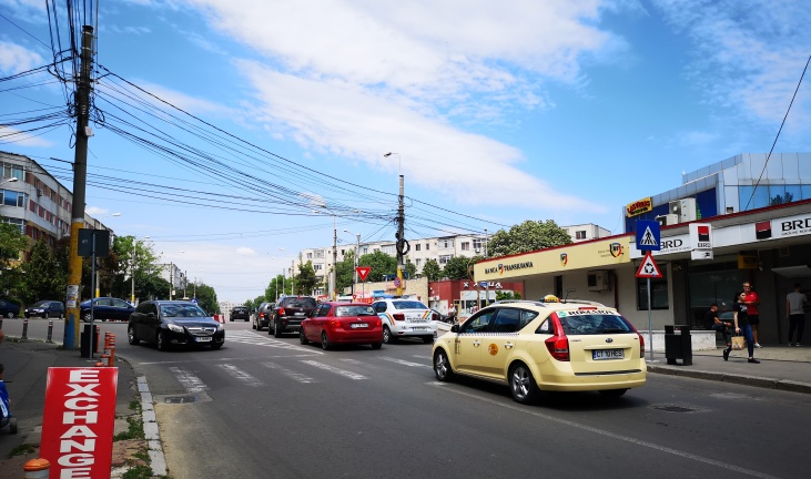 Modificări în traficul din Constanța