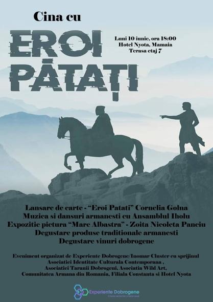 """O """"Cină cu Eroi Pătați"""" în Mamaia"""