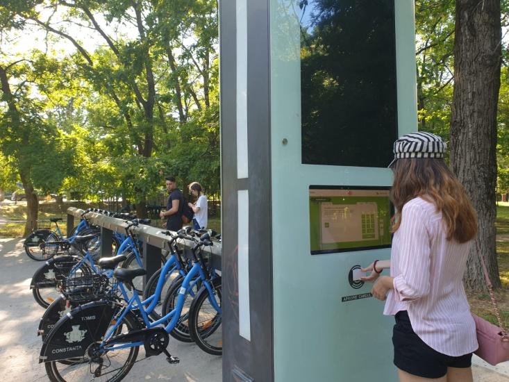 Sistem bike- sharing la Constanța