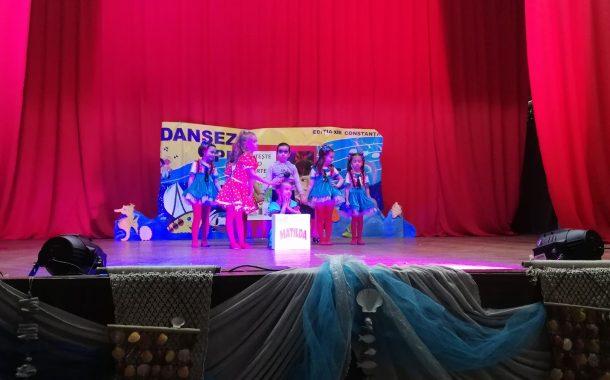 """GPP """"Stelutele marii"""" si GPP Nr. 8 Constanta  au  castigat Trofeul Festivalului """"Dansez pentru mare"""""""
