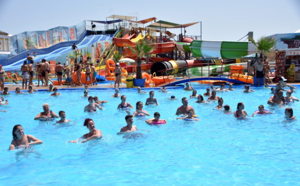Latino party, la Eforie Aqua Park