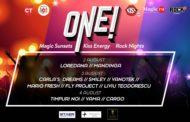 ONE! cel mai mare festival al muzicii românești continuă în weekend cu noi concerte extraordinare