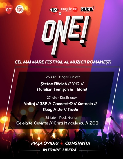 Începe ONE, cel mai mare festival al muzicii românești